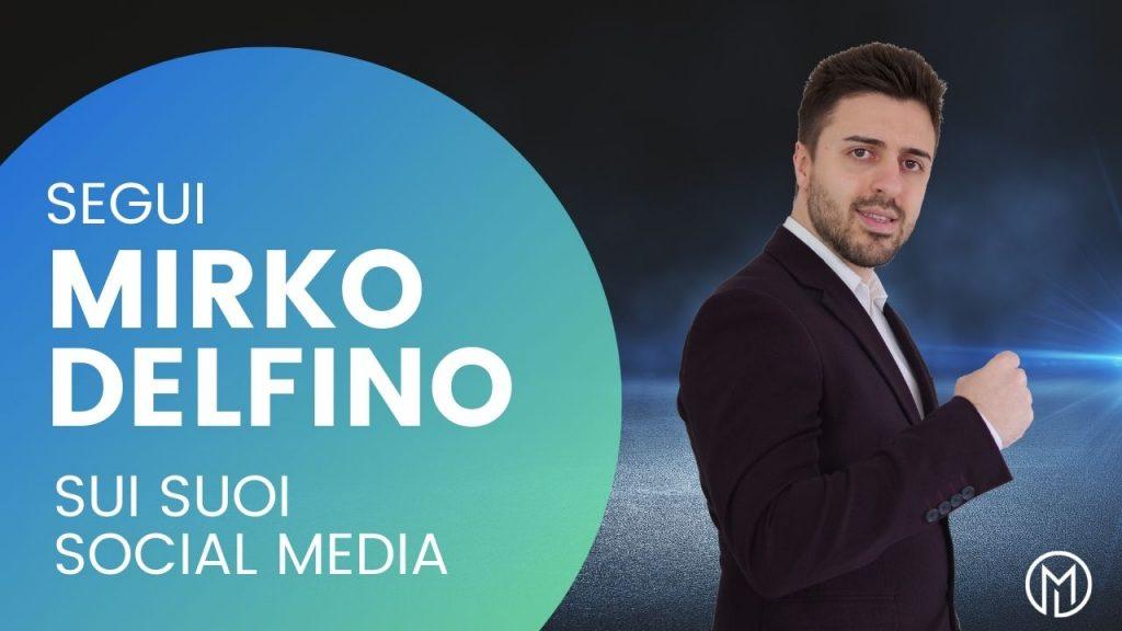 mirko delfino social media
